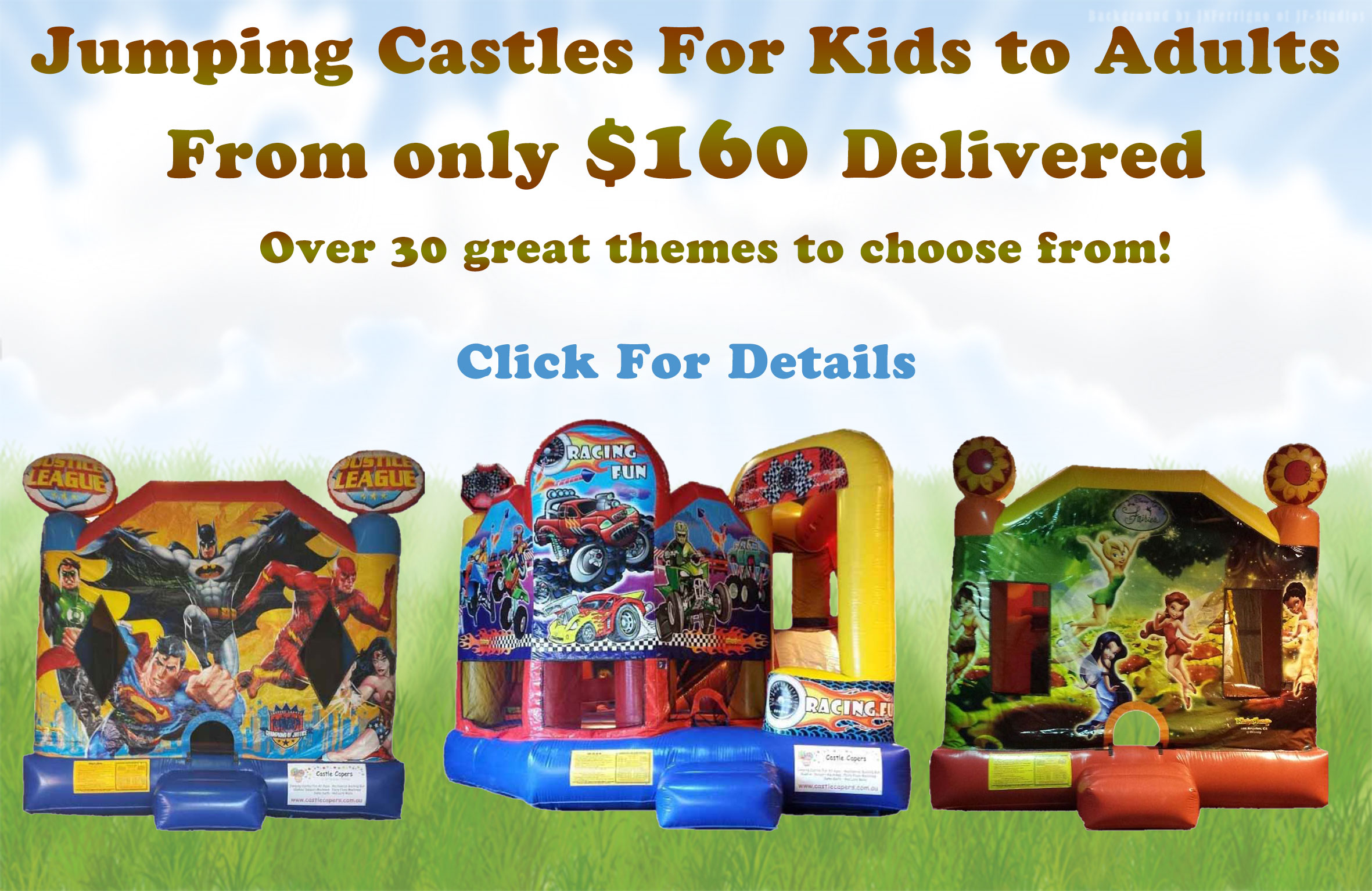 Jumping Castles for hire from Castle Capers