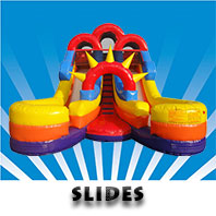 Inflatable slide hire in Adelaide